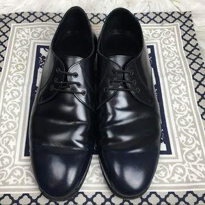Burberry Splash Sole Lace Up Shoes Navy Size 9.5